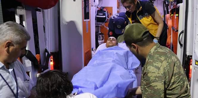 Manisa'da 44 askerin tedavisi sürüyor