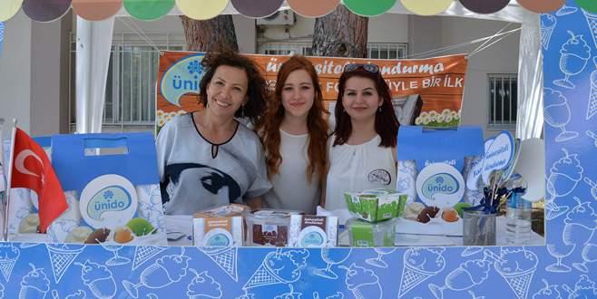 Üniversiteli dondurma ÜNİDO satışa çıktı
