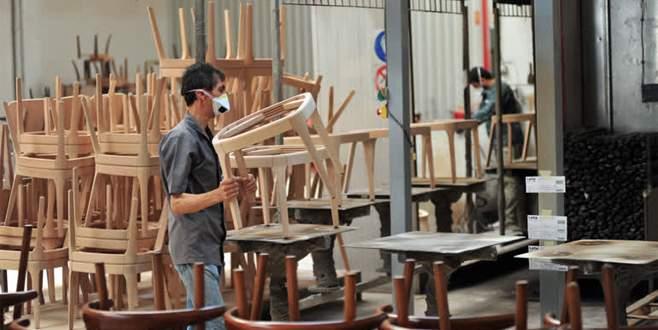 Türkiye'nin sandalyeleri İnegöl'den