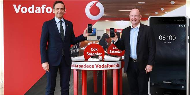 Nokia akıllı telefonlar 3 ay sadece Vodafone'da