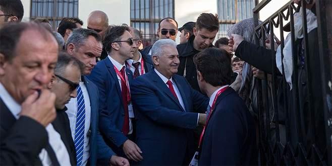 Başbakan Yıldırım Batı Trakya Türkleri ile buluştu