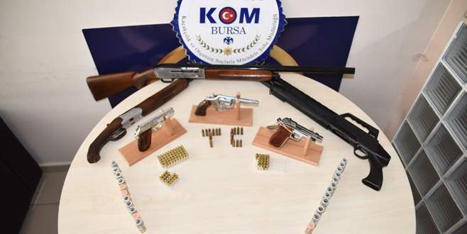 Bursa'da iki farklı suç örgütüne yönelik operasyon!