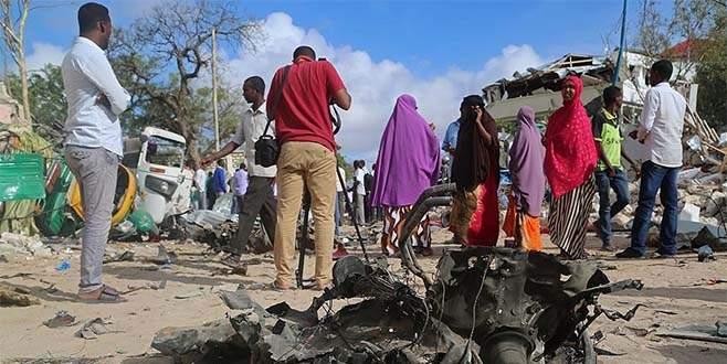 Somali'de intihar saldırısı: 15 ölü