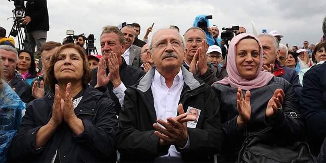 Kılıçdaroğlu: 'Adalet susarak hiç gelmez'