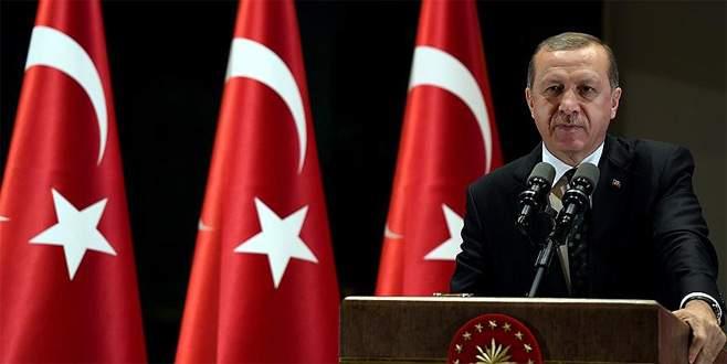 Erdoğan: 'Bizim aradığımız adalet, 250 şehidimizin kanıdır'