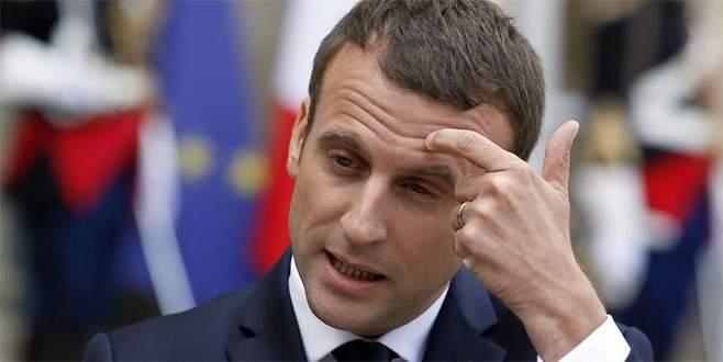 Macron'a istifa şoku