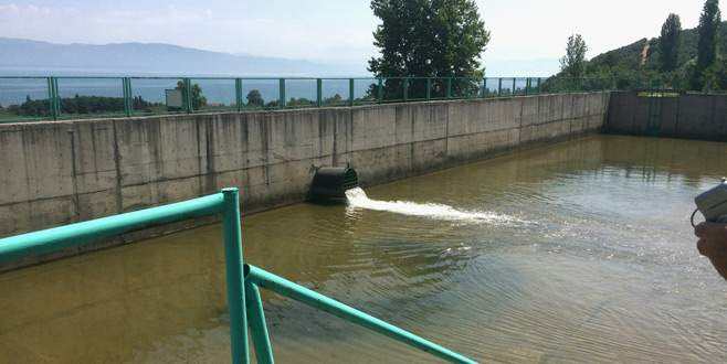 Güney Yaka Projesi'nde su verilmeye başlandı