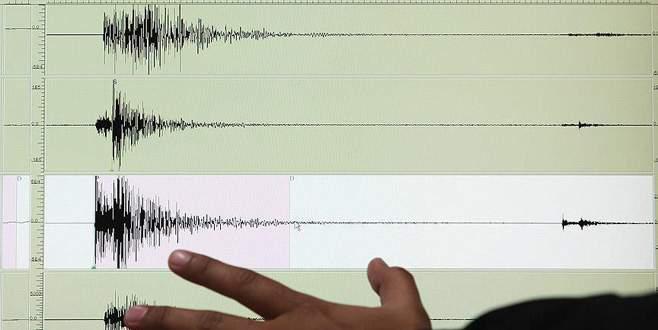 Ege Denizi'nde 5 şiddetinde deprem