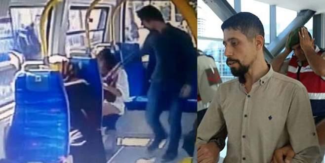 Minibüste şortlu kızı darp eden saldırgan için karar