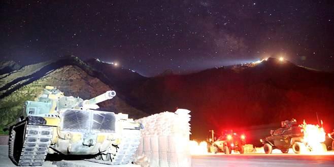 PKK Dağlıca'dan silindi