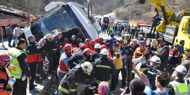 7 kadın işçinin öldüğü kazada otobüs şoförüne 15 yıl hapis istemi