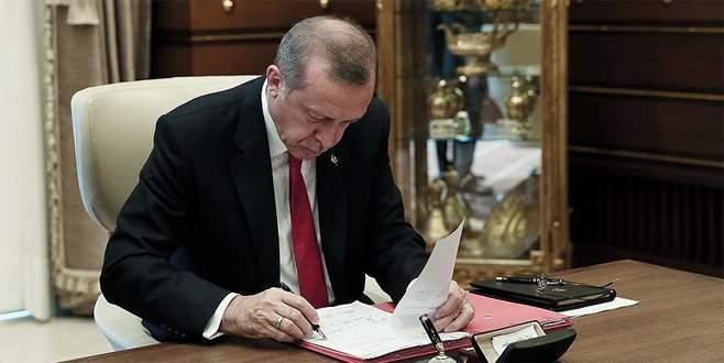 Erdoğan'dan 10 kanuna onay