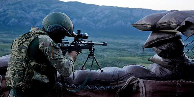 Saldırı hazırlığı yapan PKK'lı teröristler etkisiz hale getirildi