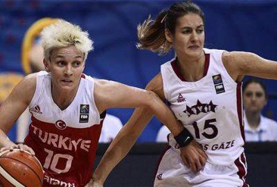A Milli Kadın Basketbol Takımı Avrupa beşincisi oldu