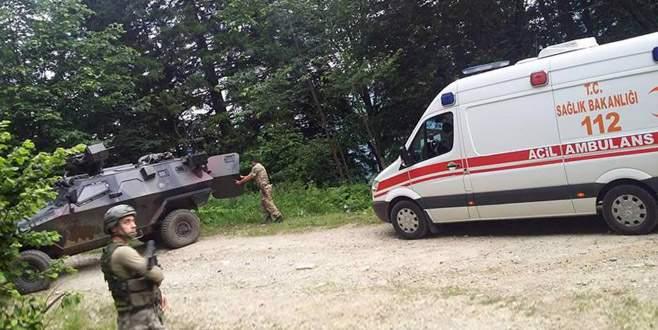 PKK'dan Trabzon'da bombalı saldırı: 2 asker yaralı