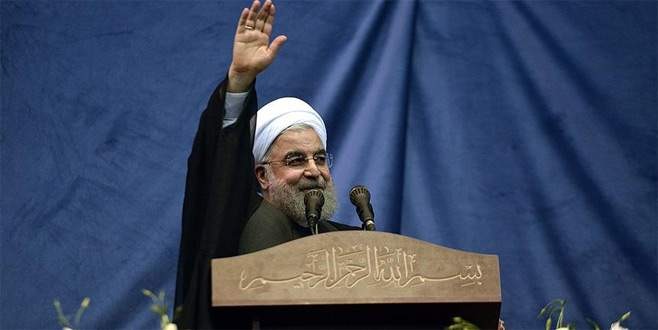 Ruhani'den Katar'a destek