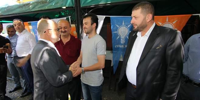 AK Parti Osmangazi teşkilatı bayramlaştı