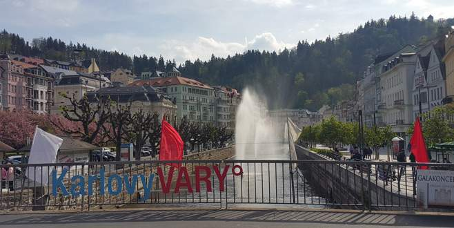 Şifa kenti Karlovy Vary