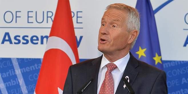 Jagland'dan Türkiye açıklaması