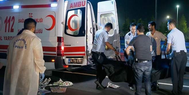 Avrasya Tüneli çıkışı feci kaza: 1 ölü
