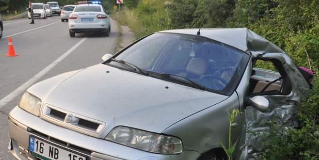 Bursa'da piknik dönüşü feci kaza: 6 yaralı