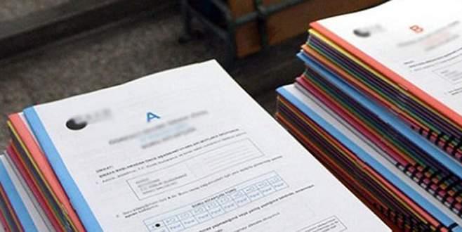 KPSS soruları projeksiyonda defalarca izlettirilmiş