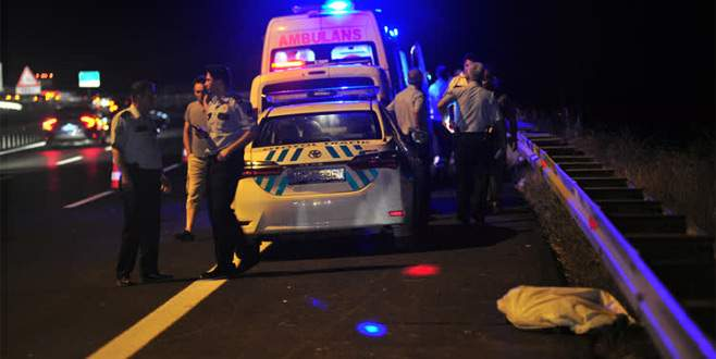Akrabalarını karşıladı, evine dönerken kazada öldü