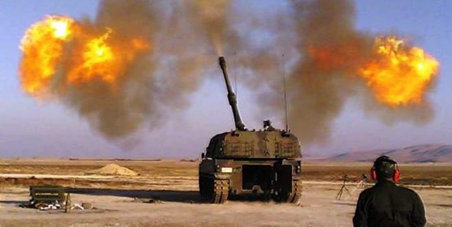 Suriye'deki YPG mevzileri topçu atışıyla vuruldu
