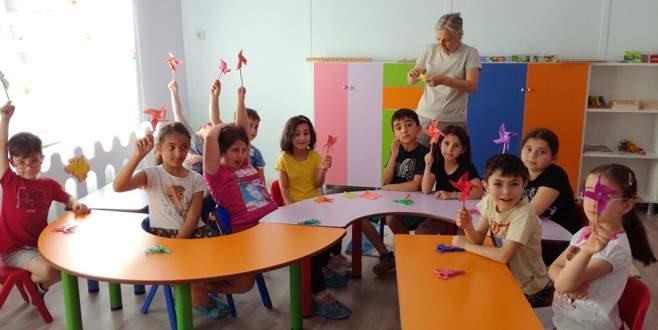 Dörtçelik Çocuk Hastanesi'nde yaz okulu açıldı