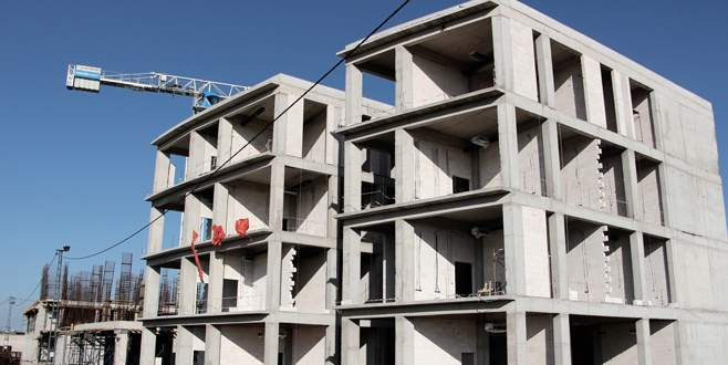Hastane binası hızla yükseliyor