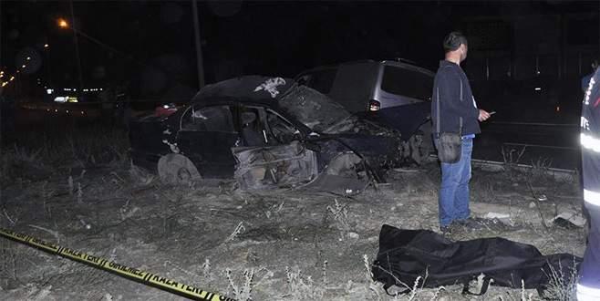 Feci kaza: 4 ölü, 3 yaralı