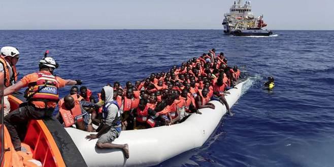 İtalya'dan mülteci resti