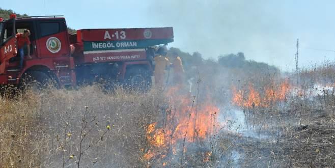 Orman yangınlarına karşı uyarı