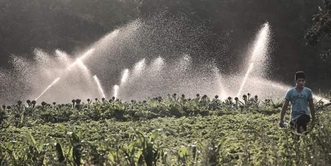 Yenişehir Ovası'nda sulama heyecanı