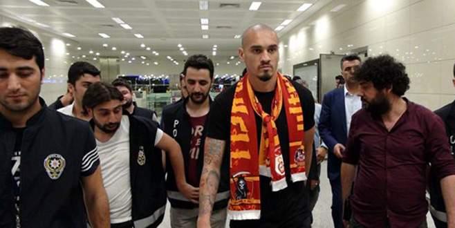 Maicon İstanbul'a geldi!