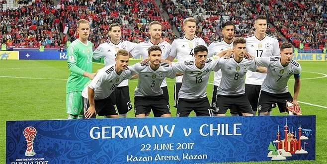 Almanya, finalde Şili'nin rakibi oldu