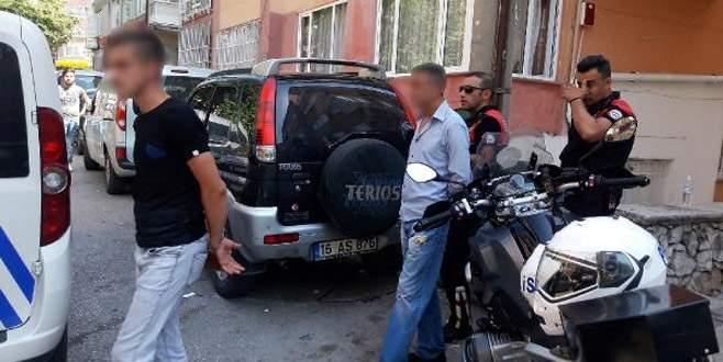 Bursa'da 'yunus ekipleri'nden zehir tacirlerine suçüstü