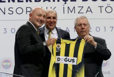 Doğuş Grubu, basketbolda Fenerbahçe'ye sponsor oldu