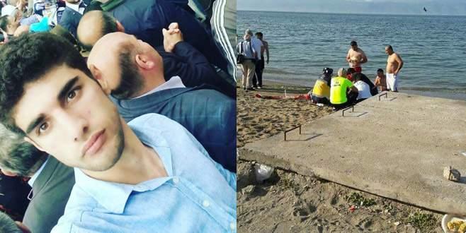 Bursa'da serinlemek için denize giren genç hayatını kaybetti