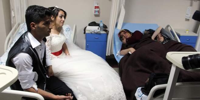 Gelin ve damat dahil 143 kişi, düğün yemeğinden zehirlendi
