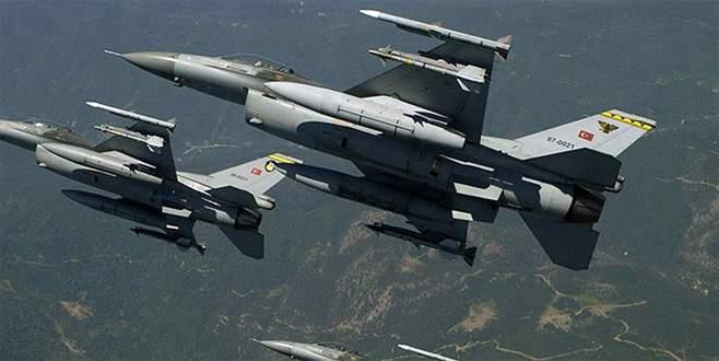 Dargeçit'te saldırı hazırlığındaki terörist gruba hava harekatı
