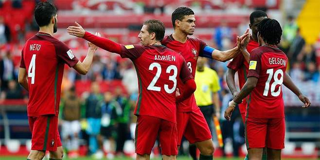 FIFA Konfederasyonlar Kupası'nda üçüncü Portekiz oldu