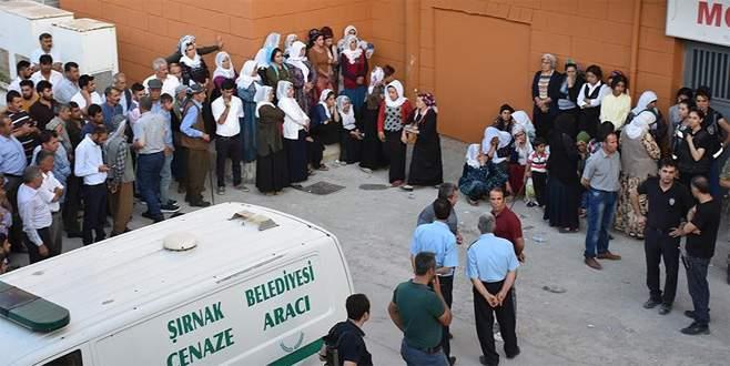 Şırnak'ta işçilerin kaldığı şantiyeye terör saldırısı