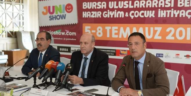 Junioshow Fuarı ile 43 ülkeden alıcı Bursa'ya geliyor