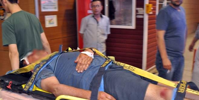 Bursa'da aile içi kavga: 1 ağır yaralı