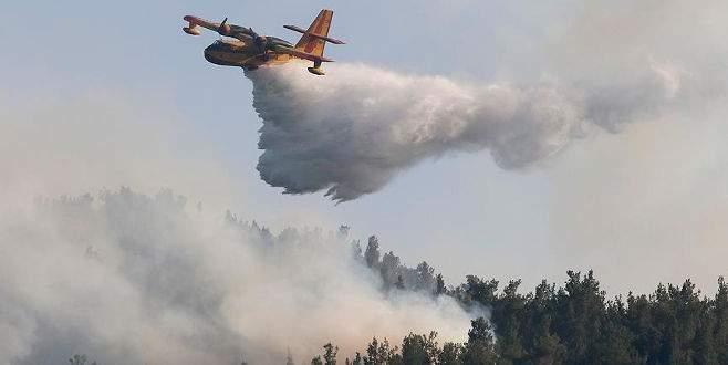 'İzmir'deki orman yangının yüzde 85'i kontrol altına alındı'