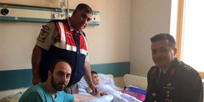 Jandarmanın müdahalesi Adile Nur'un hayatını kurtardı