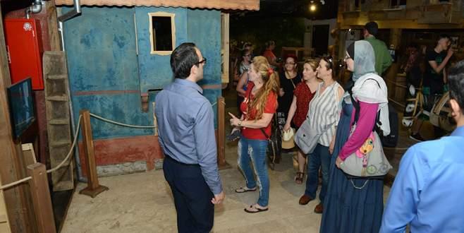 Bosna'dan gelen heyet İnegöl'e hayran kaldı