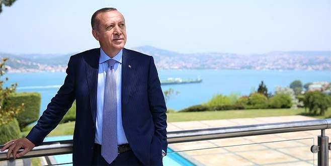 Cumhurbaşkanı Erdoğan Tarabya fotoğraflarını paylaştı