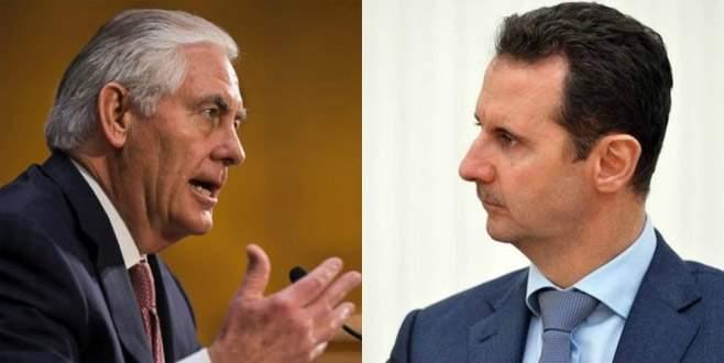 ABD'den 'Esad' iddiası
